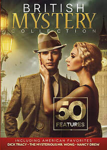 British Mystery Collection: 50 Features Including American Favorites (DVD,  2016, 7-Disc Set)
