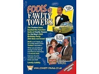 FOOLS AT FAWLTY TOWERS - HITCHIN 29/10/2021