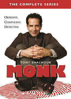 Monk The Complete Series seasons 1-8 (DVD, 2016, 32-Disc Box Set)
