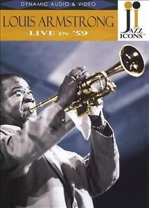 NEW Jazz Icons: Louis Armstrong Live in '59 (DVD)