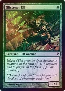 Magic the gathering mono green infect cards