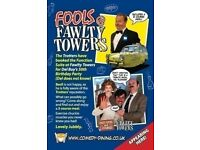 FOOLS AT FAWLTY TOWERS