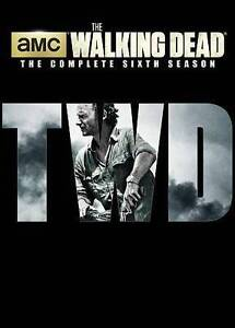 The Walking Dead: The Complete Sixth Season 6 (DVD, 2016) New, Free Shipping!