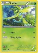 Scyther Pokemon Card