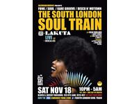 The South London Soul Train with Jazzheadchronic, Lakuta (Live) + More