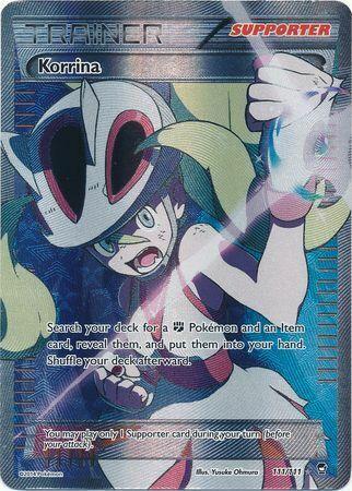 Korrina Full Art Pokemon TCG ONLINE PTCGO DIGITAL Card SENT FAST!!