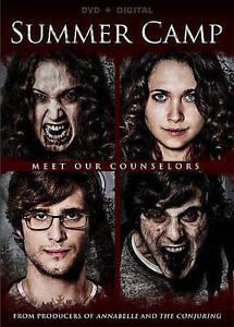 Summer Camp DVD 2016 Horror