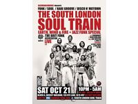 The South London Soul Train Earth, Wind & Fire + Jazz Funk Special - More