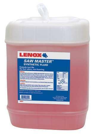 LENOX 68061 Cutting Oil,5 gal,Carboy