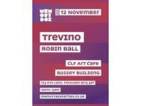 MEMORY BOX presents Trevino @ CLF Art Café, Bussey Building
