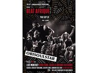 Beat Afrique with Obisoulstar (Live) & Beat Afrique Residents
