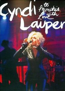 To Memphis, With Love by Cyndi Lauper - DVD - Brand New