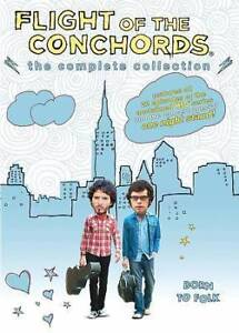 FLIGHT OF THE CONCHORDS: THE COMPLETE COLLECTION (DVD, 2010, 5-D
