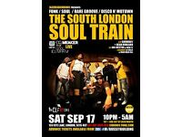THE SOUTH LONDON SOUL TRAIN WITH JHC, DR MEAKER [LIVE], QOOL DJ MARV + MOH