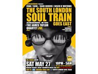 The South London Soul Train Goes East with JTQ [Live], JHC, Mr Thing + Moh
