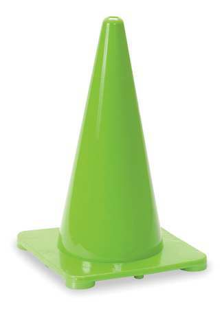 Zoro Select 1Ybw8 Traffic Cone,18 In.Green