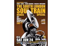 The South London Soul Train Brass Special w/ Don't Problem Brass Band Live