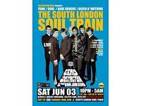 The South London Soul Train with Geno Washington & The Ram Jam Band Live
