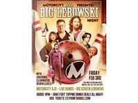Motorcity - The Lanes Annual Big Lebowski Night