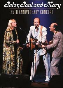NEW Peter, Paul & Mary: 25th Anniversary Concert (DVD)