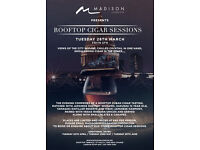 ROOFTOP CIGAR SESSIONS AT MADISON LONDON