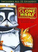 Star Wars Clone Wars DVD