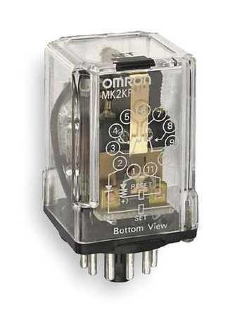 Omron Mk2kpac120 Latching Relay,11 Pins,Octal,120Vac