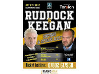 NEIL RUDDOCK & KEVIN KEEGAN : DEFEND & ATTACK 2017 CHARITY FUNDRAISER!