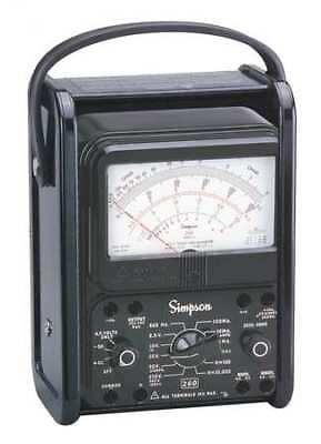 Simpson Electric 260-8prt Analog Multimeter1000v10a20m Ohms