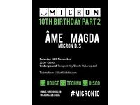 Micron 10th Birthday w/ Ame & Magda