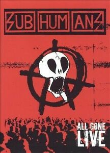 NEW Subhumans - All Gone Live (DVD)