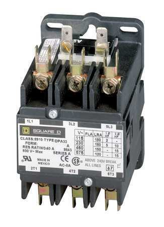 Square D By Schneider Electric 8910DPA73V09 208/240VAC Non-Reversing Definite