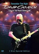 David Gilmour DVD