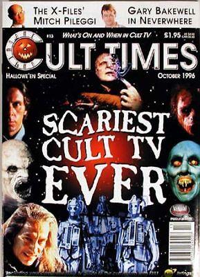 1996 Cult Times British Mag #13-X-files, Halloween (Halloween X Files)