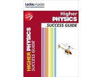 Leckie & Leckie Higher Physics Success Guide, Practice Papers and Student Book