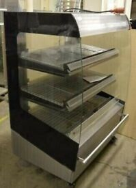 Good Condition Heated Multideck Self Serve Display Cabine