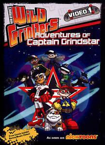 Wild Grinders: Adventures with Captain Grindstar DVD NEW