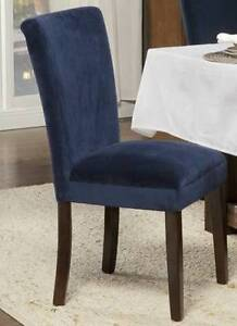Dining Chairs - set of 2 Parsons Chairs - $200