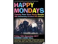 HAPPY MONDAYS AT DUNDEE CAIRD HALL