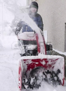 Snow Blowers Pre-Winter Special $50