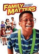 Family Matters DVD