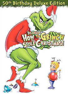 Dr. Seuss' How the Grinch Stole Christmas 50th Anniversary Deluxe Edition