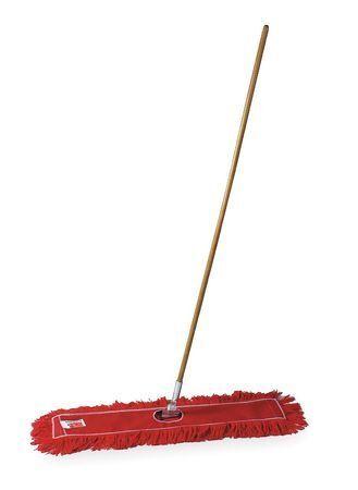 TOUGH GUY 1TZB7 Cotton Dust Mop, Red