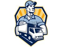 URGENT TRUCK LUTON VAN HIRE DELIVERY MAN MOVING HOUSE MOVERS TRANSPORTATION SERVICES PALLETS REMOVAL
