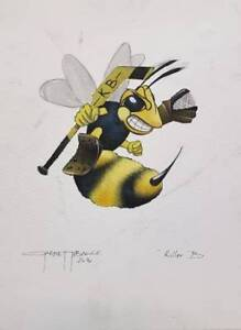 Killer Bees Hockey Memorabilia Tobacco Art Collectible $65
