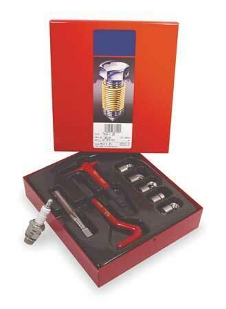 RECOIL 38180 Helical Thread Repair Kit,M18x1.5,5 Pcs