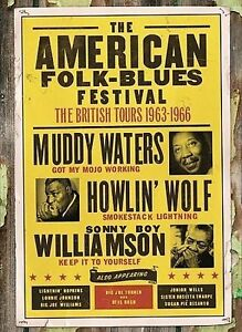 THE AMERICAN FOLK-BLUES FESTIVALS 1963-1966: THE BRITISH [REGION 1] - NEW DVD