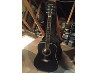 Eastwood Acoustic Guitar with bag & tuner
