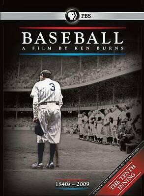 . Baseball A Film by Ken Burns (DVD, 2010, 11-Disc Set)