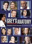 Grey s Anatomy Complete Sixth Season